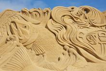 Sondervig DK - Sand Sculpture ...