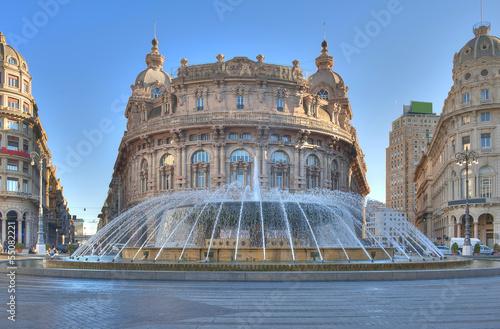 Fotografia  Piazza De Ferrari a Genova