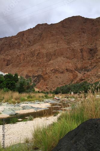 Fotobehang Midden Oosten Wadi Tiwi