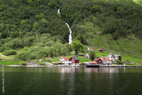 Wall Murals Northern Europe Sognefjord