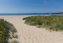 Par Beach Cornwall England Near St Austell