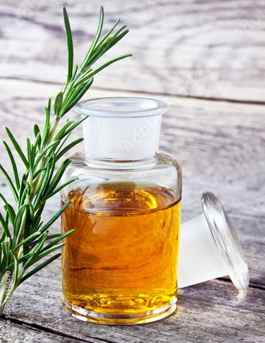 Fotografie, Obraz  Wellness - rosemary and oil