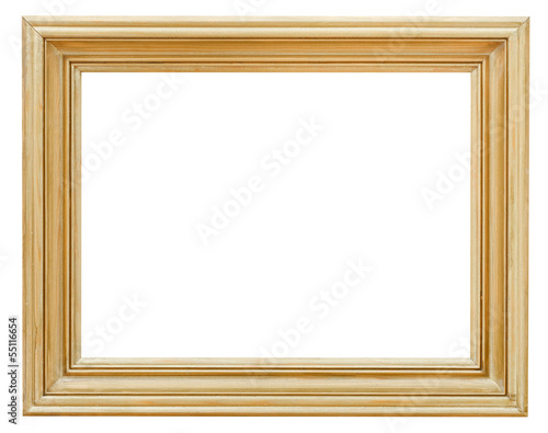 wide clacssical gilded picture frame
