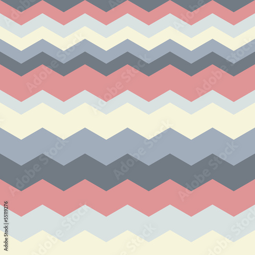 Foto op Canvas ZigZag abstract geometric pattern