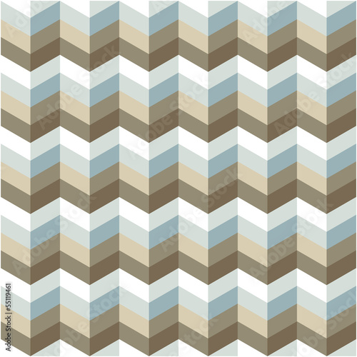 Spoed Foto op Canvas ZigZag abstract geometric pattern background