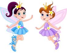 Two Cute Fairies