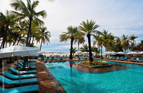 Fotografie, Obraz  Travel pool resort
