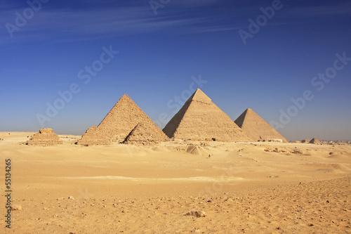Die Pyramiden von Gizeh - Weltwunder