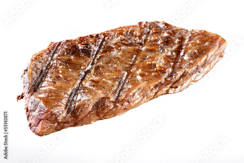 Papiers peints Steakhouse Grilled Beef Steak Isolated