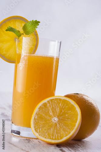 Keuken foto achterwand Opspattend water Juice