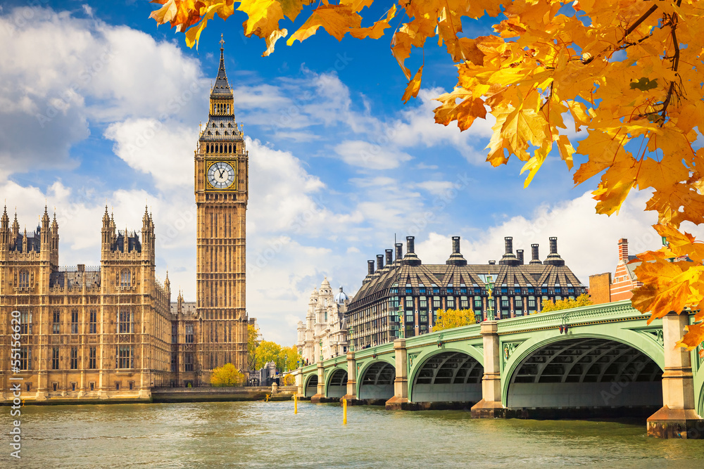 Big Ben, London Canvas-taulu