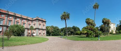 Fotografie, Obraz Royal Palace of Capodimonte, Naples