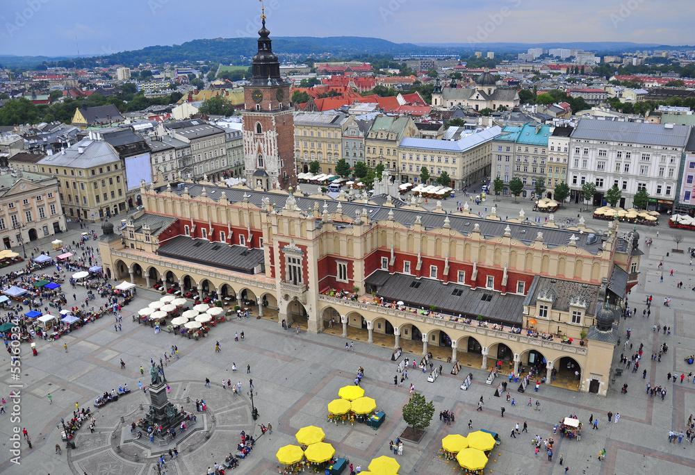 Fototapety, obrazy: Krakow main square