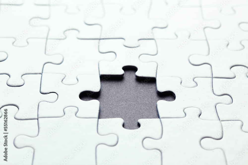 Photo & Art Print Missing puzzle piece | EuroPosters