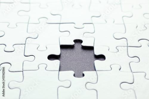 Fotografie, Obraz  Missing puzzle piece
