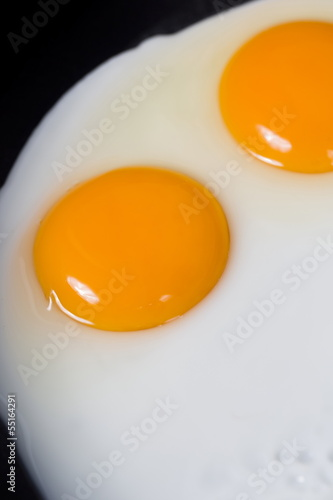 Deurstickers Gebakken Eieren fried eggs