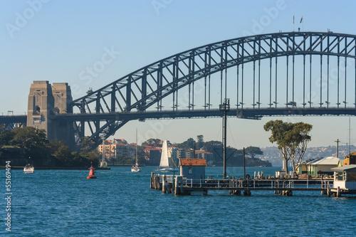 Poster Océanie Harbour Bridge in Sydney