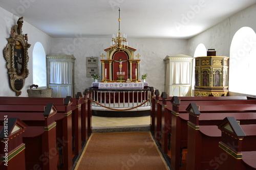 Fotografie, Obraz  Kostel