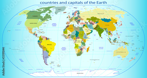 kraje-i-stolice-ziemi
