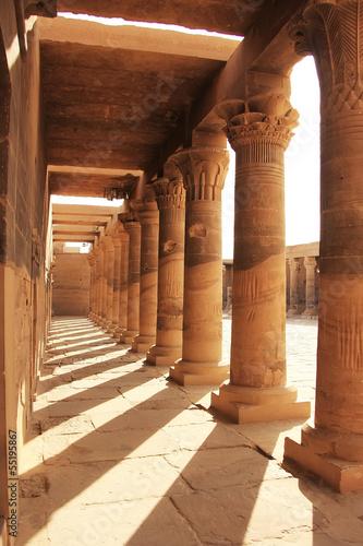 Tuinposter Egypte Philae Temple, Lake Nasser, Egypt