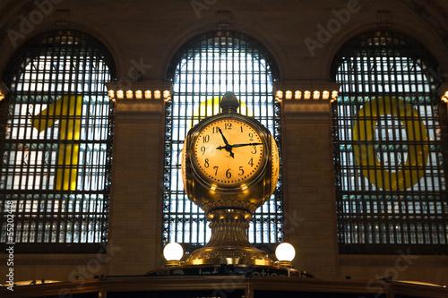 Grand Central Station clock, New York City Canvas Print