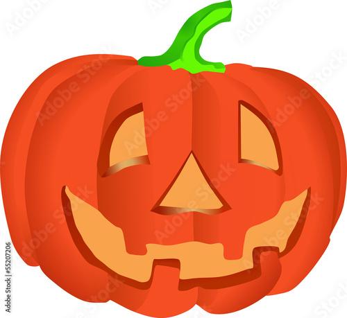 Halloween-Kürbis – kaufen Sie diese Vektorgrafik und finden Sie ähnliche Vektorgrafiken auf Adobe Stock