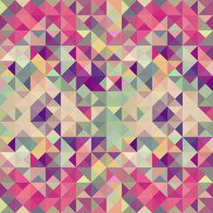 FototapetaVintage hipsters geometric pattern.