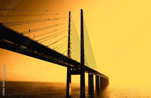 Keuken foto achterwand Bruggen The Bridge - Die Brücke