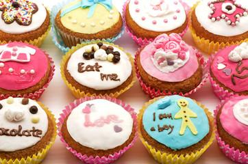 Fototapeta Do cukierni Different cakes