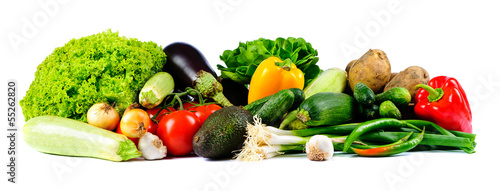 Poster Fresh vegetables fresh vegetables