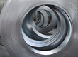 Leinwandbild Motiv sheet metal rolls