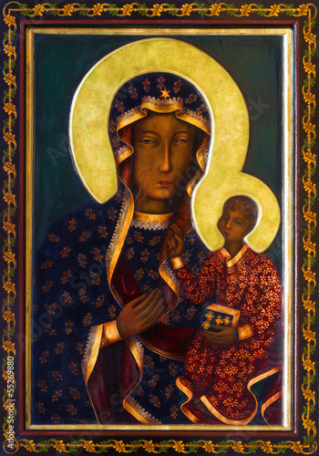 Vienna - Icon of black Madonna - 55269880
