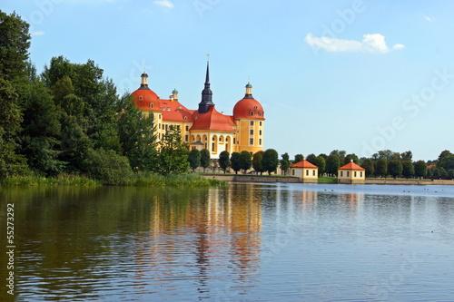 Keuken foto achterwand Kanaal Schloss Moritzburg
