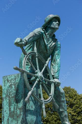 Fotografie, Obraz  The Gloucester Fisherman Memorial
