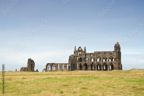 Fotografie, Obraz  Whitby Abbey
