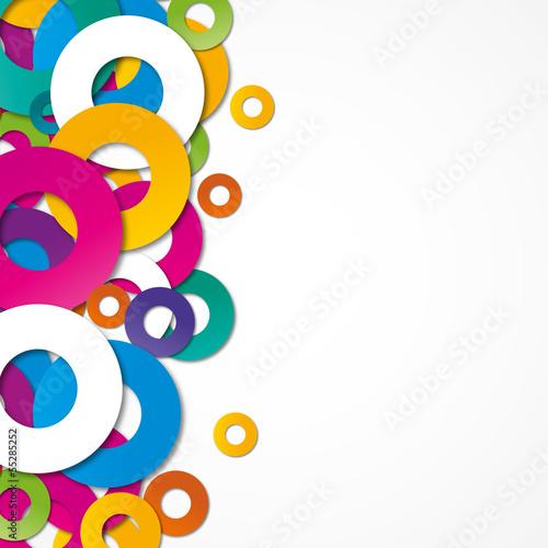 Naklejka fond abstrait design