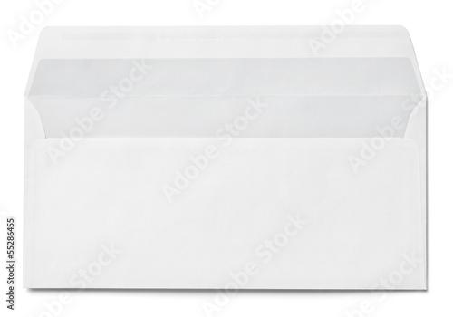 Fotomural leaflet letter business card white blank paper template