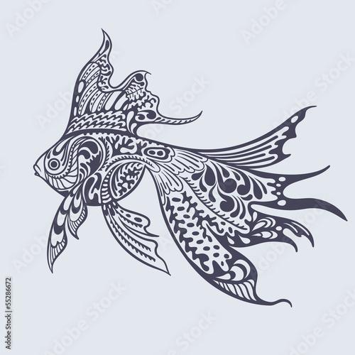Gold fish..