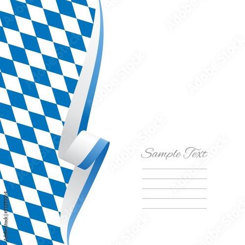 Fotografie, Obraz  Bavarian left side brochure cover vector