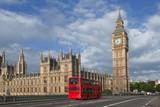 Fototapeta Londyn - Big Ben abbaye de westminster Londres