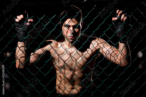 Obrazy MMA   fearles-mma-fighter-ready-to-fight