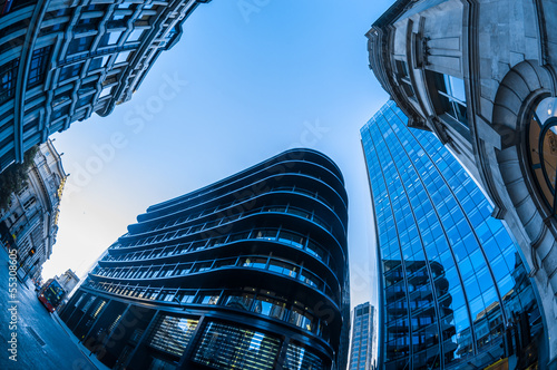 Photo Skyscrapers in the City of London