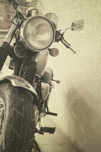 vintage-background-motocykl