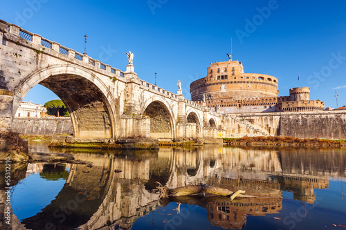 Canvas Prints Rome Sant'Angelo fortress, Rome