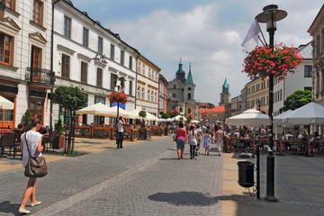 Stadtleben in Lublin