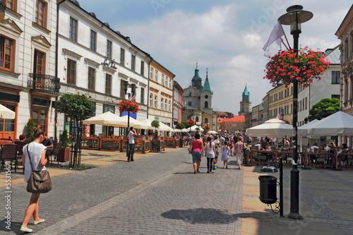 Obraz Stadtleben in Lublin - fototapety do salonu