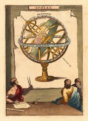 FototapetaVintage astronomical chart
