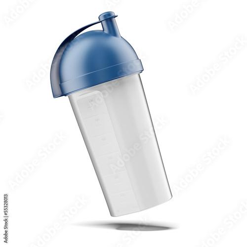 Fotografia  plastic vitamin shaker