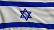 Flag of Israel looping