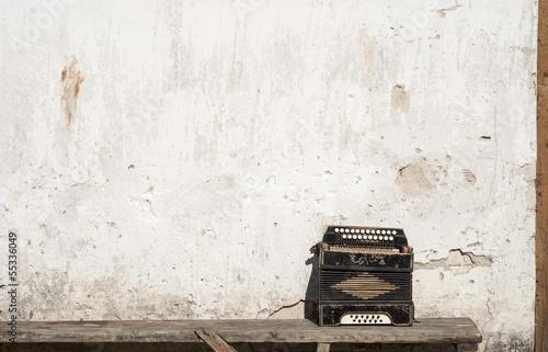 Fotografía  wall and accordion